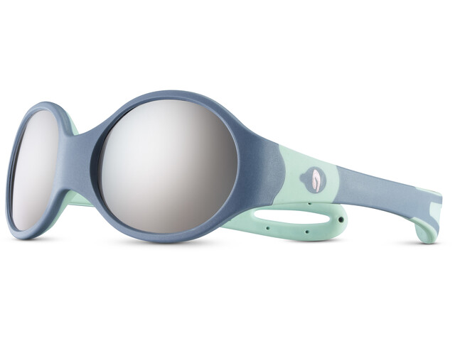 Julbo Loop L Spectron 4 Sunglasses Kids blue grey/blue/grey flash silver